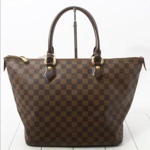 Louis Vuitton Saleya Mm Damier Ebene Shoulder Bag